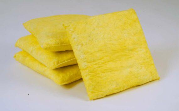 Almohada absorbente químicos